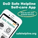 Safe Helpline Outreach Toolkit - Self Care App