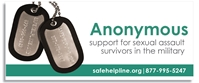 "Safe Helpline Rectangular Web Banner - ""Anonymous"""