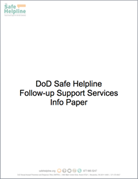 Follow-up Support Info Paper