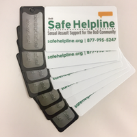 Safe Helpline Keycards