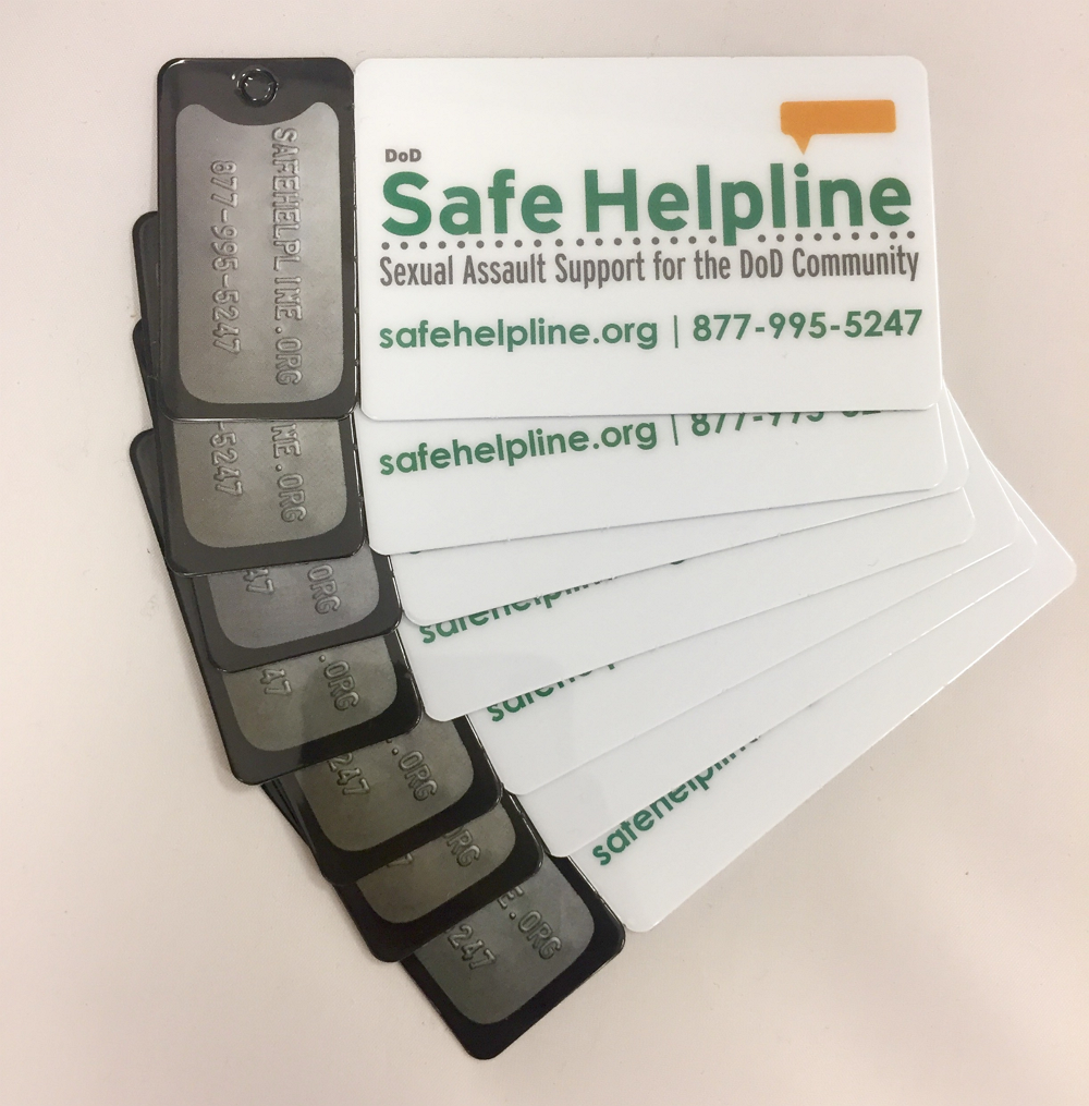 Safe Helpline Keycards - KC2017-1