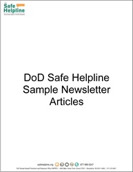 Sample Newsletter Text